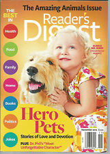 Reader's Digest November 2012 Amazing Animals Issue