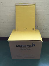50 x Genuine Sealed Air Mail Lite Gold Postage Bags Ref. K7 (Int. 350 x 470mm)