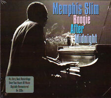 MEMPHIS SLIM - BOOGIE AFTER MIDNIGHT   (NEW SEALED 2CD)