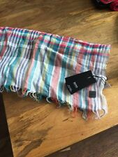 Hugo Boss Tomar Multi Coloured Scarf. RRP £65 BNWT