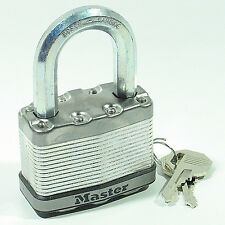 "Lock From Master M15KALF KEYED ALIKE Matching Carbide Magnum Large 2½"" Wide Body"