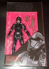 """STAR WARS IMPERIAL DEATH TROOPER BLACK SERIES 6"""" ACTION FIGURE #25 NEW IN STOCK"""