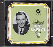 The Chronological Bing Crosby Volume 15 1934 CD