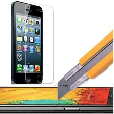 Colorful Tempered Glass Screen Protector for iPhone 5 5S 5C + Carbon Fiber Film