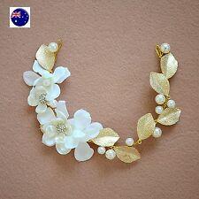 Women Lady Flower Girl Fairy wedding Bride Party Hair piece Headband Garland