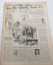 The Sporting News Newspaper  Cooper Brothers  January 4, 1945  101014lm-eB2