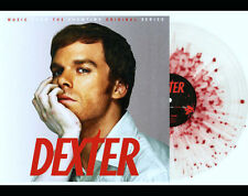 DEXTER Soundtrack LP on BLOOD SPLATTER COLOR VINYL New SEALED /1000 Daniel Licht