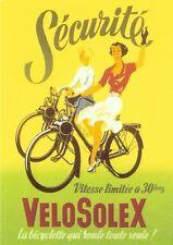Velo Solex moped poster