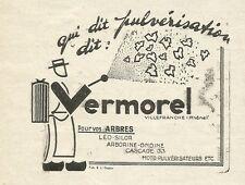 W6170 VERMOREL - Villefranche - Pubblicità 1934 - Advertising