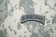 Velcro® Military Patch US Army AIRBORNE TAB ACU Brand NEW Authentic