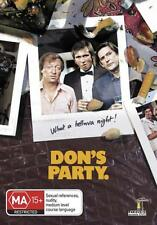 DON'S PARTY. Australian Comedy Graham Kennedy. Sex Maniac, Invitation Must See.