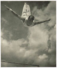 1936 German Olympic Games Innozenz Stangl Leni Riefenstahl Photo Gravure Print