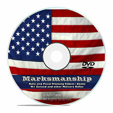 Rifle and Pistol Marksmanship, Books Manuals, Video, Antique Rifle Books DVD V55