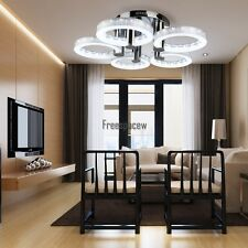 Chandelier Ceiling 5 LED Lamps Light Fixture Modern Contemporary Dining Room 29""