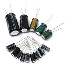120 Condensatori Elettrolitici 15 Valori Disponibili Assortimento 1uF-2200uF 50V