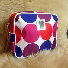 LISA PERRY for Estee Lauder~ MOD GEOMETRIC pattern Small Square Cosmetic Bag NEW