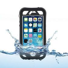 Naztech Vault Waterproof Case Cover for iPhone 5/5S/SE Finger Print ID Black