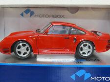 """Porsche 959 1:18 """"RED"""" Motorbox """"Exoto"""""""
