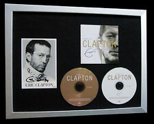 ERIC CLAPTON+SIGNED+FRAMED+WONDERFUL+TEARS=100% AUTHENTIC+EXPRESS GLOBAL SHIP