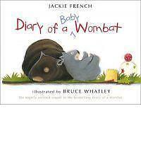 Diary of a Baby Wombat by Jackie French (Paperback) New Book