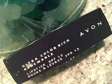 AVON Ultra Color Rich Renewable Lipstick FLAMBE New Sealed FREE SHIPPING