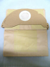 PACK OF 5 VACUUM CLEANER BAGS TO FIT KARCHER A2000 A2099 A2054 A2054MW GLM 30192