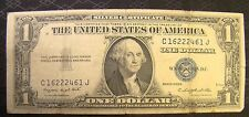 United States 1 One Dollar Blue Seal Silver Certificate 1935 G C 16222461 J Bill