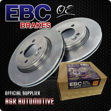 EBC PREMIUM OE REAR DISCS D1636 FOR RENAULT LAGUNA 3 2.0 TURBO GT 205 BHP 2008-