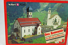 Kibri N Scale Kit #700 Gotthard Souvenir Village Church in Wassen