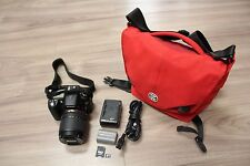 Nikon D90 12.3MP Digital SLR Camera + 18-105mm f/3.5-5.6 + 16GB Card + Bag