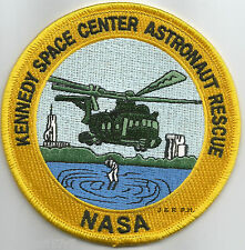 "N.A.S.A. - Kennedy Space Ctr. - Astronaut Rescue, FL  (4"" round size) fire patch"