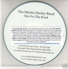 (G723) The Martin Harley Band, One for the Road - DJ CD