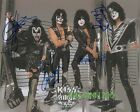 KISS SIGNED 10X8 PHOTO, GREAT STUDIO IMAGE, LOOKS GREAT FRAMED