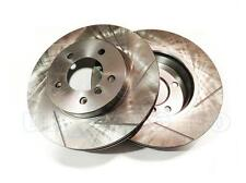 GROOVED Performance FRONT Brake Discs BMW 3 Series Coupe (E46) 325 Ci 2000-On