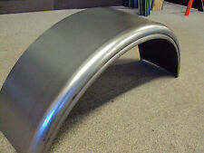 Trailer fenders (PAIR) 7.75 X 28 single axle steel 16 GA