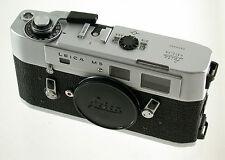 Leica m5 m-5 cromo Chrome body carcasa rangefinder classic premium