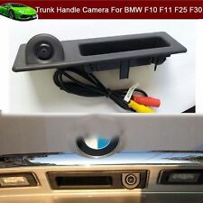 Car Trunk Handle + Rear View Reverse Camera for BMW F10 F11 F25 F30 BMW 5 Series