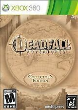 Brand New Deadfall Adventures Collector's Edition Xbox 360 Game