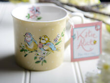 KATIE ALICE Bird Song Yellow FINE CHINA PALACE MUG Shabby Chic