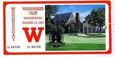 1997 PGA Championship Full Unused Ticket - Davis Love