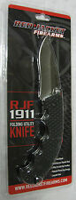 NEW Red Jacket Firearms RJF 1911 Drop Point Folding Knife ONTARIO KNIFE COMPANY