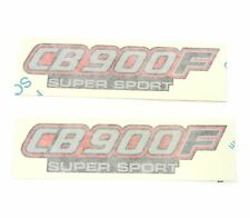 Side Cover Panel Decal Set ✰ Honda CB900F Super Sport CB900 ✰ 1982 ✰ Black Model
