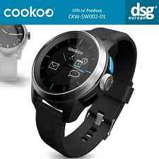 Reloj Inteligente Cookoo BLUETOOTH ANDROID IOS Plata Negro