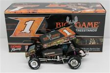 2014 SAMMY SWINDELL BIG GAME TREESTANDS WORLD OF OUTLAWS ACTION SPRINT CAR 1:24