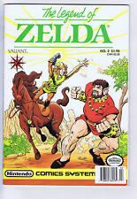 Legend of Zelda #2 Valiant Pub 1990