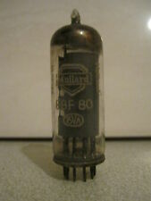 EBF80 / 6N8 Double Diode Pentode RF Valves / Tubes by Mullard (Tested Good)