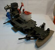 NITRO gas vintage kyosho Chassis with GT engine BRAND NEW read discription
