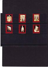 UNO Wien Mi.Nr. 240 - 245 postfrisch aus Markenheftchen, siehe Scan,