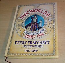 Terry Pratchett Discworld Unseen University Diary 1998 Paul Kidby Hardback UK