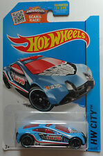 2015 Hot Wheels HW CITY Speed Trap 54/250 (Blue Version)